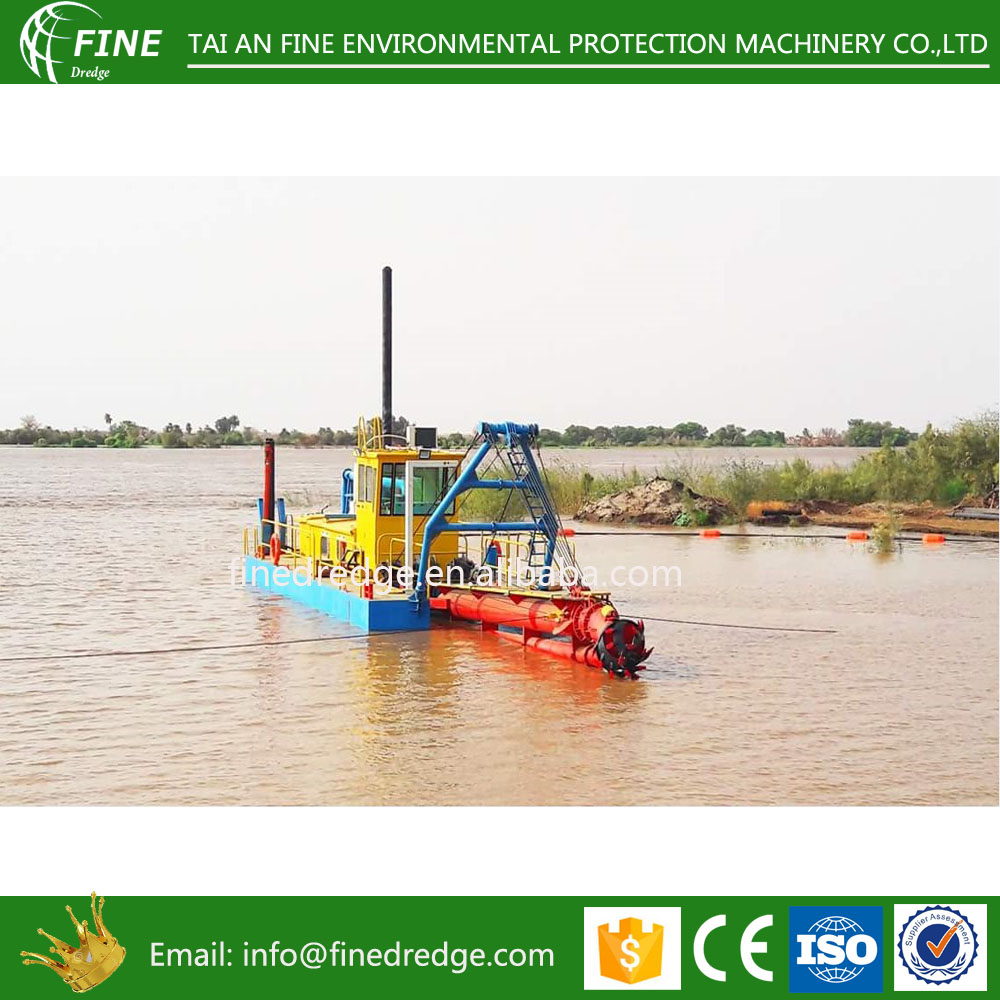 6 inch 8 inch river cutter sand mud pumping dredging machine