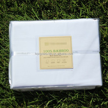 Wholesale 100%bamboo bed sheets/ natural bamboo bed linens/ organic bamboo bedding set