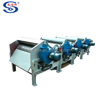 China GM400 three roller waste textile fabric recycling machine on sale