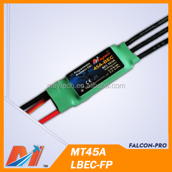 Maytech rc plane ESC 45A brushless speed controller for model airPlane