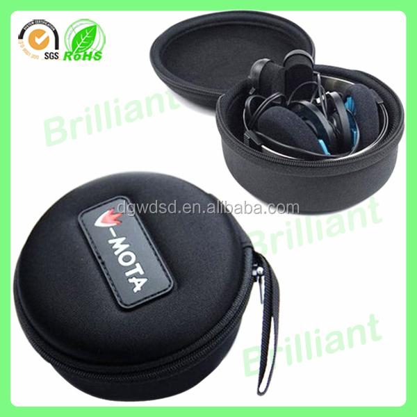 environmental modified eva waterproof shockproof headphone protective case