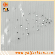 Garment clear korean rhinestone for trimming for dress