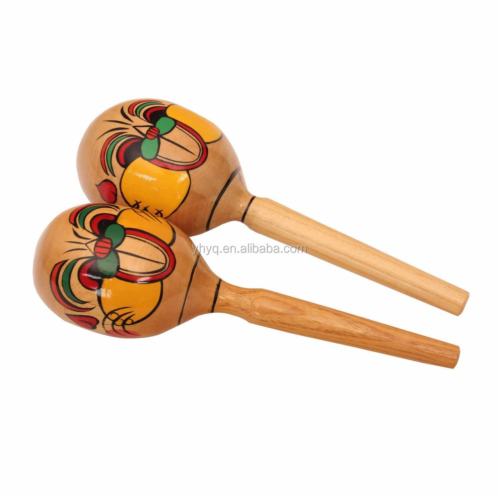 import musical instruments children toys wood maracas orff musical instrument