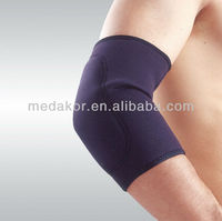 black neoprene elbow brace