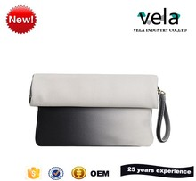 New Designer Patchwork Women Clutch Bag Handbags With PU Material