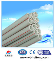Factory price ppr plastic pipes for hot and cold water / types of plastic water pipe