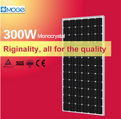 Moge monocrystalline best price solar panel 300w in india