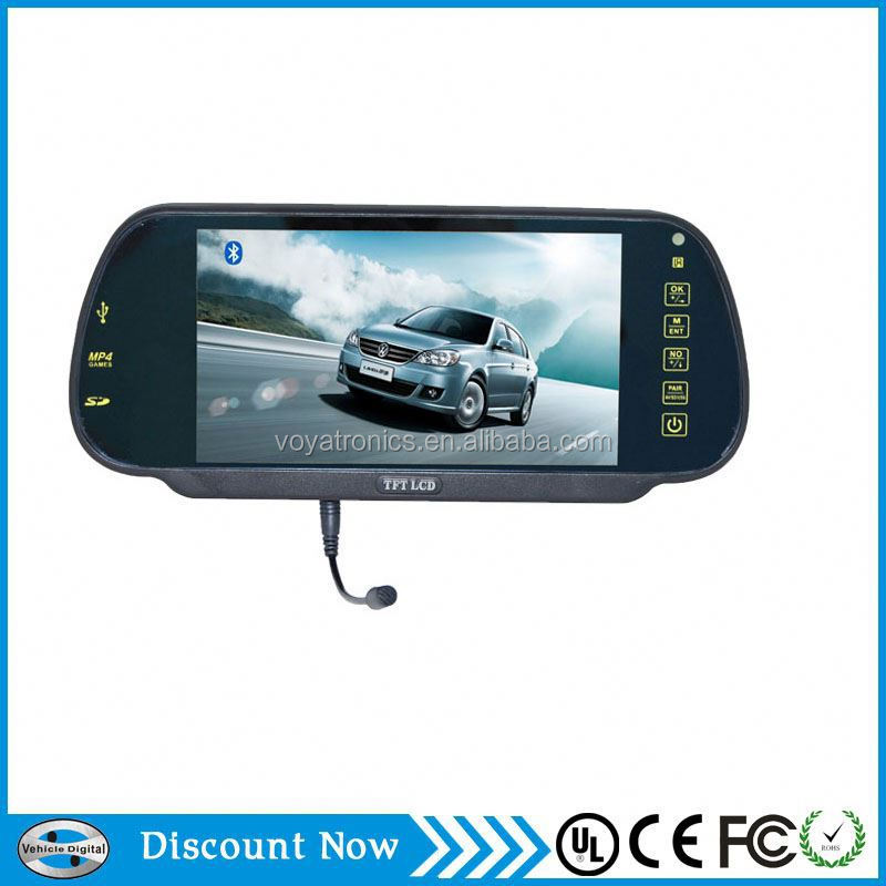 5 Inch Tft Lcd Car Rear View Mirror With 2 video inputs from Shenzhen manufactuer