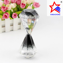 New Diamond shape Acrylic Unique Liquid Motion Timer for Gifts & Crafts