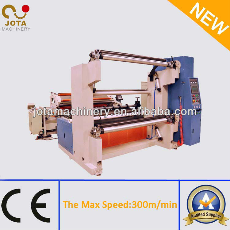 Small Fiberglass Mesh Rolls Slitting Machinery