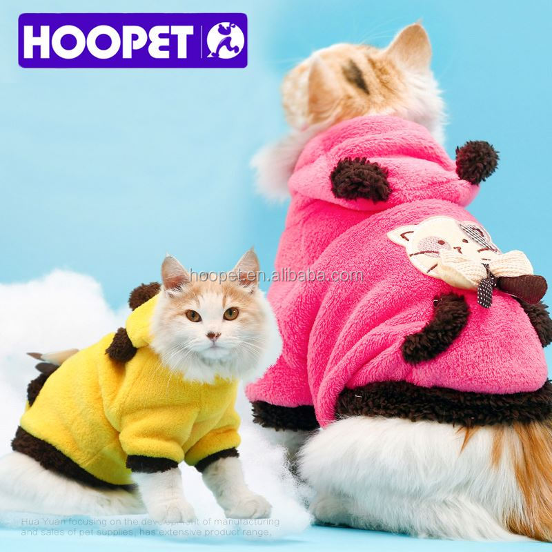 Hoopet Soft design cat clothes clothing online
