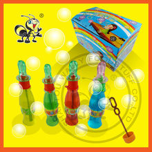 Summer Top Sell Cola Bottle Bubble Water /Bubble Soap With Cola Whistle Toy Bottle /35ml Cola Bubble Toy