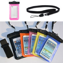 Universal Clear Waterproof PVC Dry Pouch Case For Samsung Galaxy s3 mini i8190