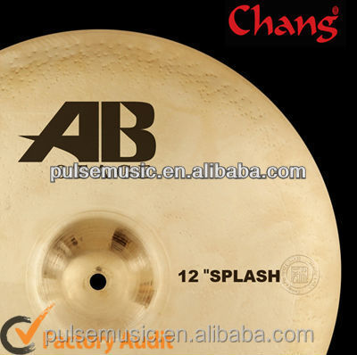 Chang AB Stage 12'' Splash Istanbul Cymbals For Jazz Drum Cymbal