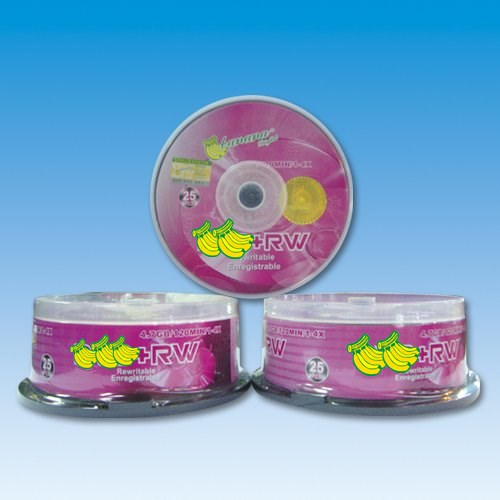 High quality blank disk 4.7 GB for DVD-R W