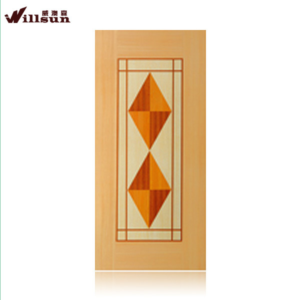 Top quality lowest price wooden fire rated door on sale