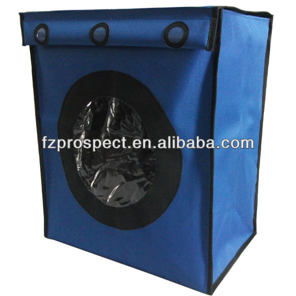 2014 canvas fabric pop up laundry bag