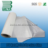 Competitive High Flexibility PU Hot Melt Adhesive Film For Seamless Pocket