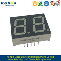 Free samples common cathode Dual digit 0.56inch LED seven segment display for home appliance