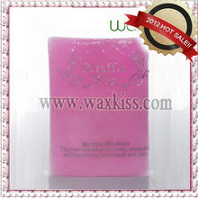 professional Waxkiss Spa hand care fully refined paraffin wax PW-01 in salon use