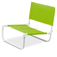 Outdoor leisure folding beach lawn chair for promotion.