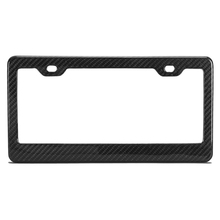 USA universal Top quality 100% full carbon fiber license frame , modern carbon fiber license plate frame