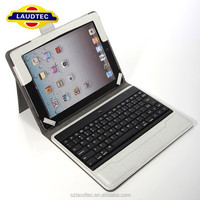 For iPad Air Keyboard/Removable Bluetooth 3.0 Keyboard Leather back cover tablet Case For iPad Air