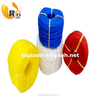 2mm,3mm ,4mm,5mm,6mm PP and polyethylene twisted monofilament rope in 100YD/200YD per coil