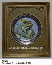 Frame Artistic Knight on Horse Paintings