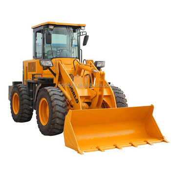 2 ton small size four wheel drive articulated mini loader