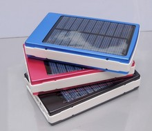 solar battery new solar power bank 30000mah portable battery middle east hot sale charging for all mobile phones