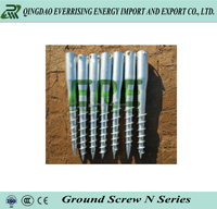 Hot dipped galvanized Ground screw pole anchor for solar panel for EU market