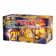 "2"" tube 50 shots big fireworks display cake manufacturer for firework show celebration"