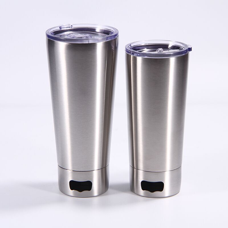 500ml double wall Stainless Steel 304 Vacuum Pint Cup Bottle with Beer Opener