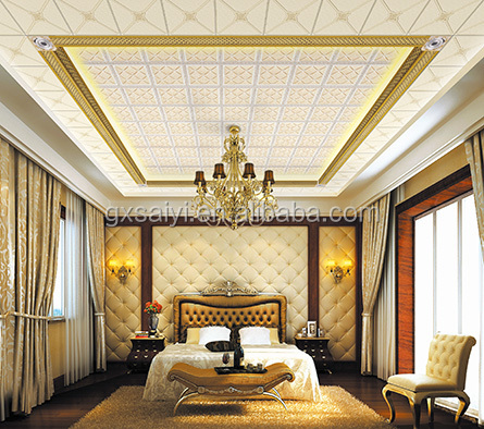 Home Decoration Modern Inside Design Polystyrene Ceiling Board