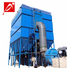 Cement plant bag filters pulse baghouse