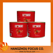 the tomato paste+210g*48tins/ctn+Brix 28-30%+made in China