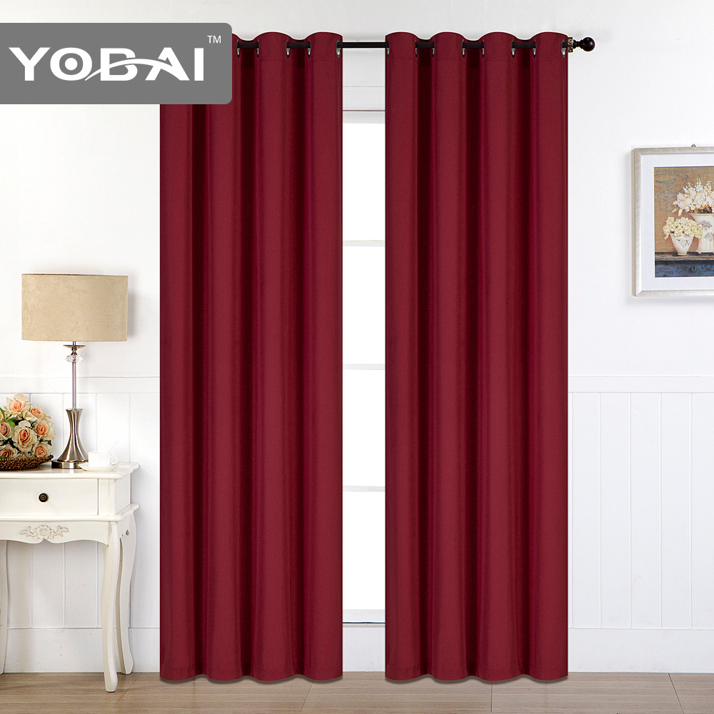 Wholesale Living Room Hotel Blackout Curtain
