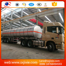 trailer, trailer truck , Large capacity tank trailer / dry powder goods tanker trailer for sale