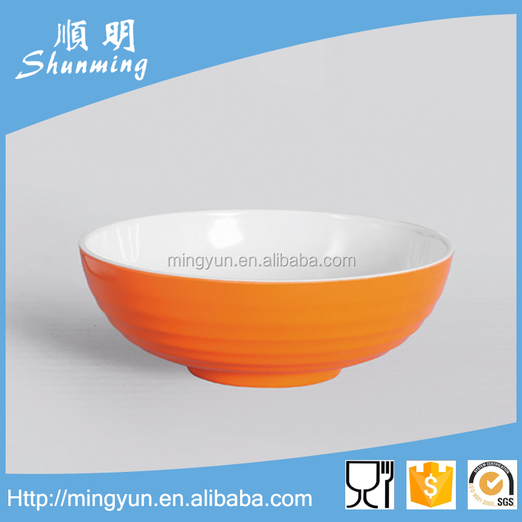 Dinnerware of 100% melamine bowl