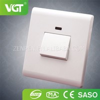 China Alibaba Supplier New Style Factory Directly Provide 1 Gang 1 Way Wall Switch