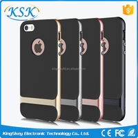 Hot selling TPU+PC rock phone case for iphone 6, for Iphone 7