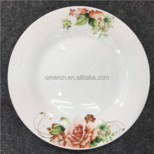 wholealse cheap price beautiful design porcelain dinner plate