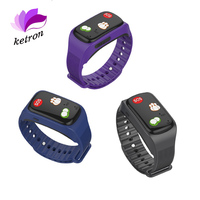 LBS GPS Smart Watch One Key