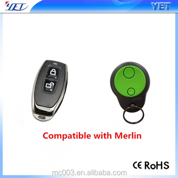 Merlin mini keyfob transmitter remote control for gate