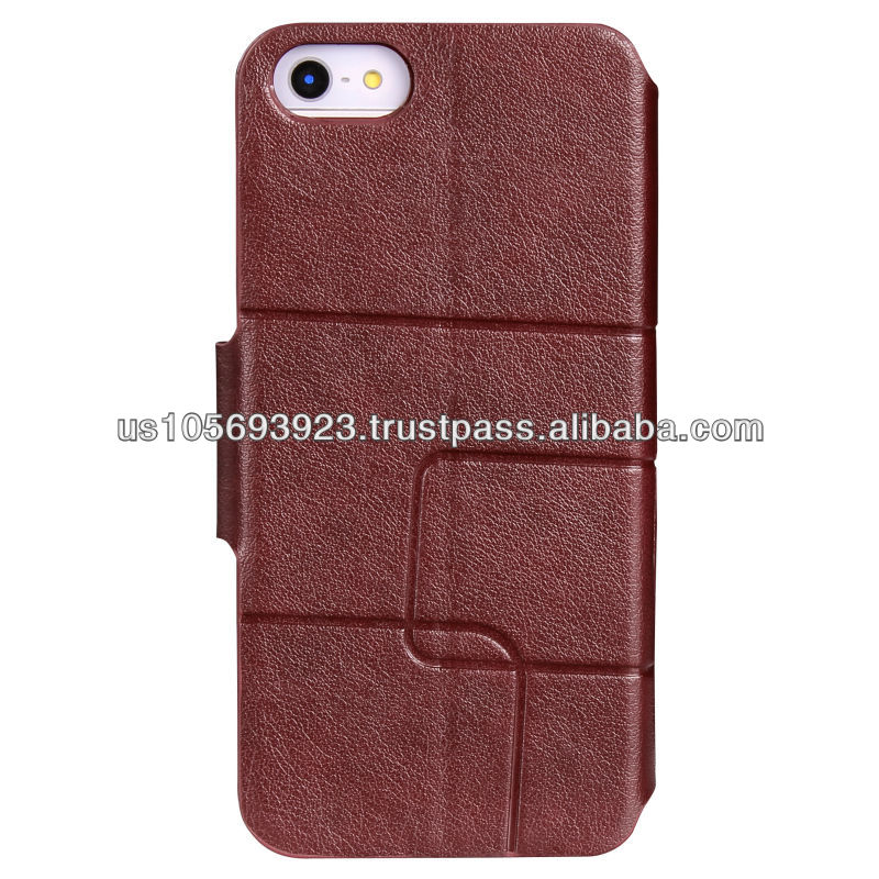 IMPRUE Credit Smart Stand Leather Case For Iphone 5C
