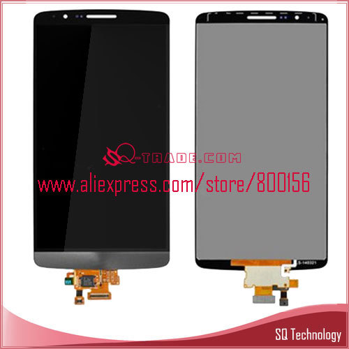 for LG G3 Mini D722 LCD Screen with Digitizer Touch Panel Black Color