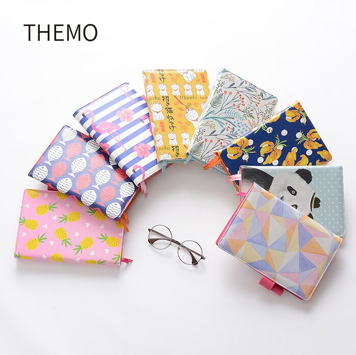 A5 creative journal dairy planner high grade PU cover notebook section sewing planner with clasp