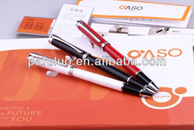 Roller pen and finance pen with metal material