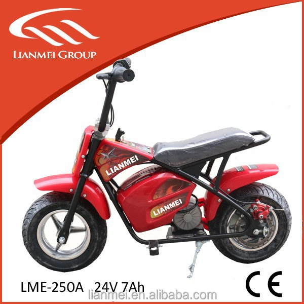 Best Selling New 250 Watts 24V Electric Dirt Bike with High Quality